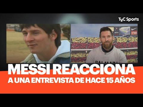 Leo Messi REACCIONA A Una Entrevista Que Le Hicieron Hace 15 Años - COMPLETO