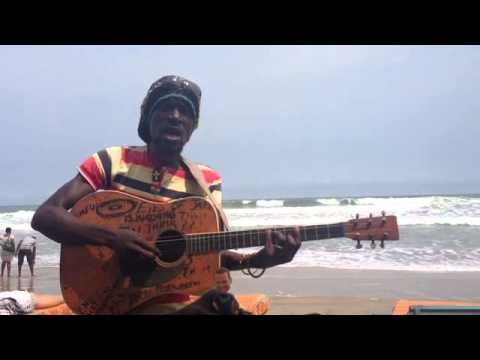Beautiful Reggae Music on the Beach in Accra, Ghana