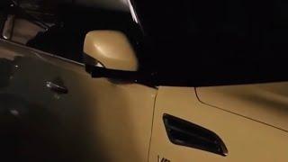 Auto folding mirror module installation for RHD Nissan Patrol Y62 S1-S4