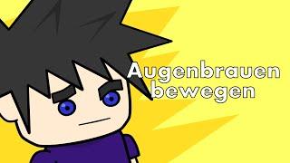 Augenbrauen bewegen - Anime Studio Tutorial - JustKetchup