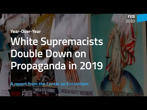 Anti-Defamation League Report On White Supremacy Ignores Trump's Role In Racism