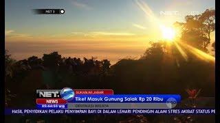 Berburu Keindahana Sunrise Gunung Salak - NET5