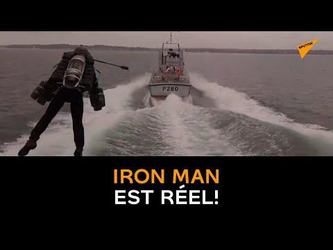 Le vrai Iron Man s'envole au dessus du Solent