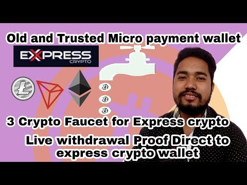 Old \u0026 Trusted MicroPayment Wallet   3 Crypto Faucet For ExpressCrypto   Live Withdraw To Microwallet