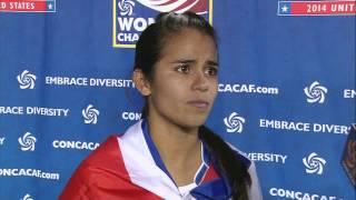 Interviews Match Costa Rica vs Trinidad and Tobago