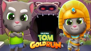 TALKING TOM GOLD RUN 2020 - MUMMY TOM VS TALKING TOM ALL NEW WORLD MAP