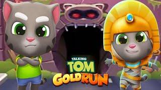 TALKING TOM GOLD RUN 2020 - MUMMY TOM VS TALKING TOM ALL NEW WORLD MAP