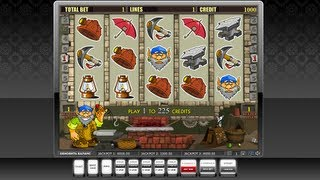 Слот игра GNOME(Игра: GNOME Описание: 9 линий, бонус и супер бонус игра. Имеется зонтик http://re-casino.ru/ - система управления игровым..., 2013-03-08T14:39:54.000Z)
