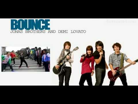 Jonas Brothers ft. Demi Lovato - Bounce (Lyrics On Screen ...
