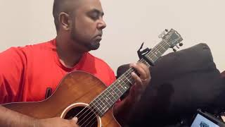 Cover images Yenga Pona Raasa Guitar Cover by A. R. Rahman and Shakthisree Gopalan