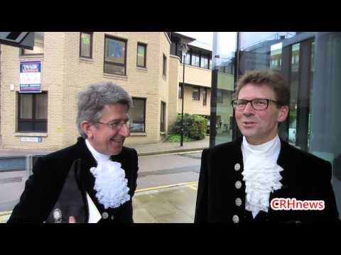 CRHnews - 834th Essex High Sheriff unveiled at Magistrates Court