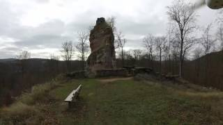 Haunted ruins of Beilstein