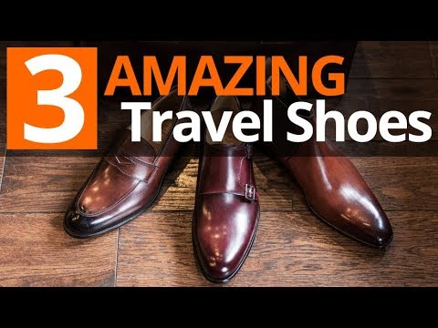 Perfect Style On The Road | 3 Favorite Travel Shoe Styles For Men