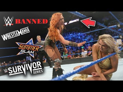 SHOCKING REASON WHY ALL MAJOR WWE EVENTS ARE BEING BANNED HERE (WWE BANNED EVENTS)