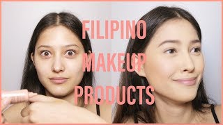 Soft Glam Makeup Using Local Brands + First Impressions (feat. SunniesFace, blk, Human Nature, etc.)