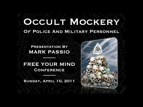 Mark Passio - Occult Mockery Of Police & Military Personnel