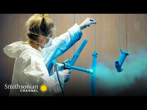 Assembling Luxury Bicycles Takes a High Level of Skill 🚲 Inside the Factory | Smithsonian Channel thumbnail