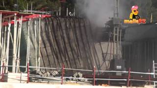 Bauarbeiten am Unfall Hotel am Ballermann