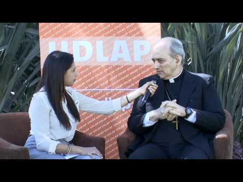 Entrevista a Monseñor Marcelo Sánchez Sorondo - UDLAP