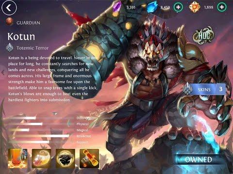 Heroes Of Order And Chaos - Kotun
