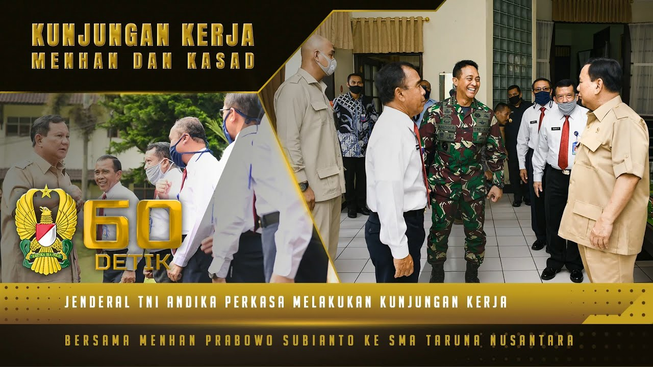 Peresmian RS Tk. IV Akmil dan Pesan Menhan dalam Kunjungan Bersama Kasad ke SMA Taruna Nusantara