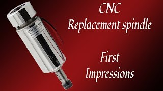 3040 China CNC Replacement  Spindle | First Impressions