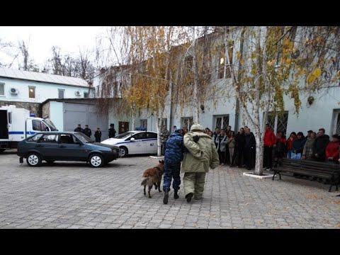 В Управлении МВД России по г.Керчи состоялся День открытых дверей для старшеклассников