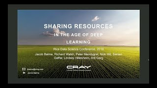 2019 Data Science Conference - Parallel Session A #1