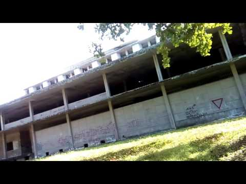 Outside of Clark Airbase Abandoned Hospital