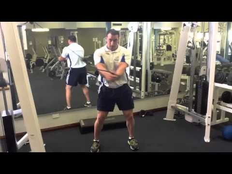 Perth Sports Physio - Cable Chop - Loftus Physiotherapy & Rehabilitation