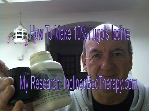 Make Lugols Iodine Full Strength 10 % Formula Save Money & Excellent Results