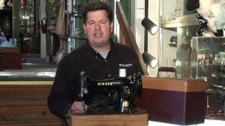 About Antiques About Antique Sewing Machines