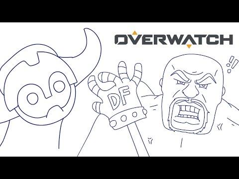 Overwatch Animated: Orisa vs Doomfist | Original Animation