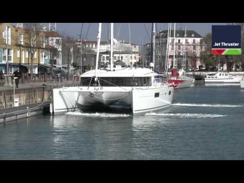 Lagoon 560 - Jet Thruster Docking system