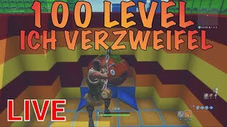 FORTNITE 100 LEVEL **UNMÖGLICH** LIVE 😱! Fortnite Live Deusch! 100 Level DEATHRUN Code Fortnite