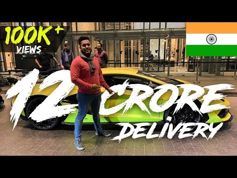 Most Expensive Lamborghini of India | Delivery of Lamborghini Aventador SVJ & Aston Martin Vantage