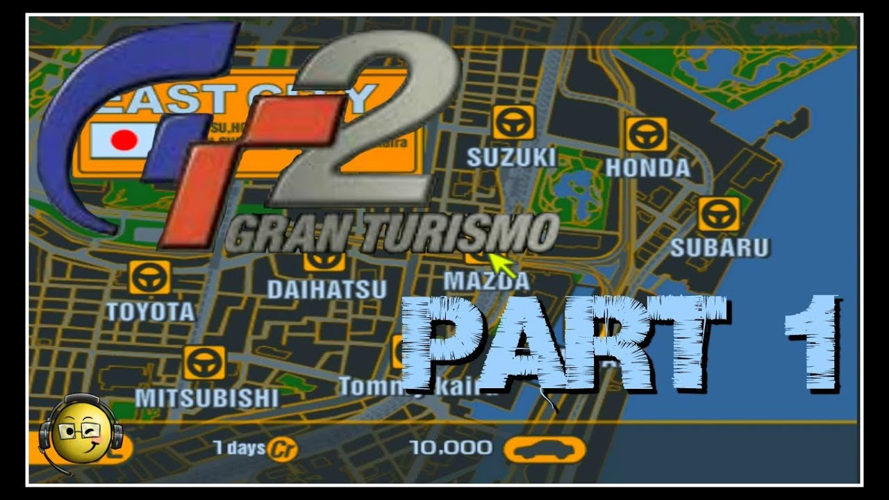 Let's Play Gran Turismo 2 Part 1: Intro & Buying First Car!