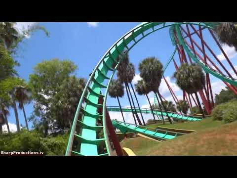 Kumba (On-Ride) Busch Gardens Tampa