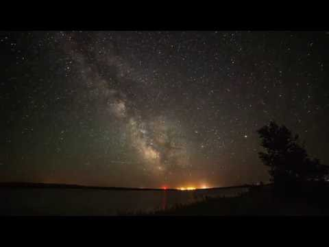 Milky Way Time-Lapse North Dakota
