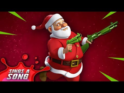Fortnite Santa Song (Epic Christmas Parody