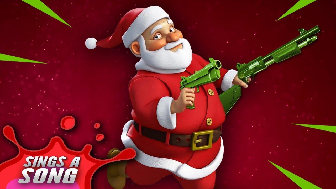 Christmas Parody.Fortnite Santa Song Epic Christmas Parody The Snow Came