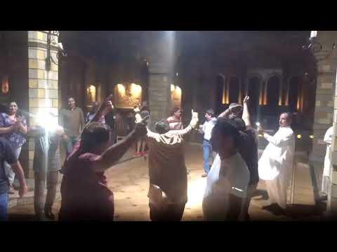 Dancing after dinner at Mugam restaurant - Travel to Azerbaijan