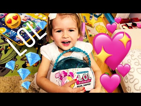 ЛОЛ жемчужина шар - куклы LOL Pearl Surprise, распаковка шар лол жемчужный оригинал