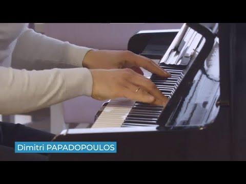 Dimitri Papadopoulos inaugure le nouveau piano de La Colline de la Soie