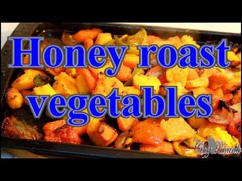 How To Make Best Honey Roast Vegetables | Recipes By Chef Ricardo