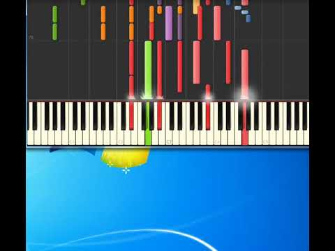 Jewel   hands [Synthesia Piano] [Piano Tutorial Synthesia]