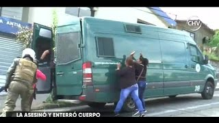 Formalización de hombre que reconoció asesinato terminó con incidentes - CHV NOTICIAS