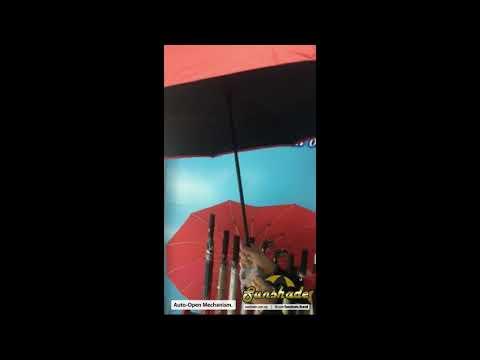 Auto Open Mechanism - Inverted Umbrella