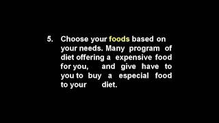 How To Lose Your Diet | weight loss diet