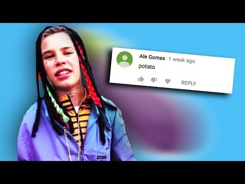 READING COMMENTS ON MY GUCCI GANG PARODY!